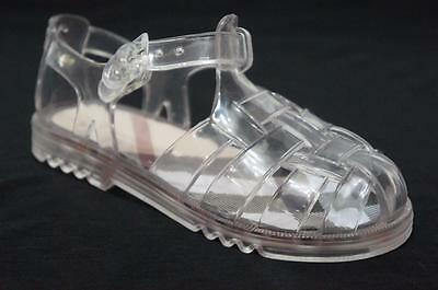 BURBERRY CLEAR JELLY BABY GIRLS SANDALS SHOES 28/10