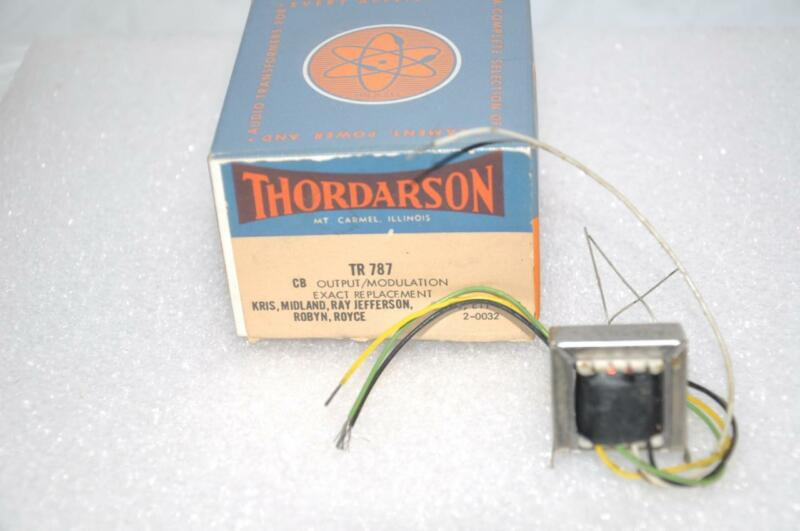 Thordarson TR787 CB Output Modulation for KRIS Midland Ray Jefferson Robyn Royce