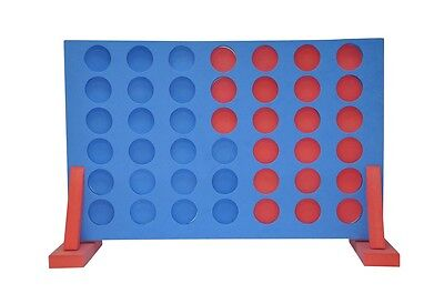 GIANT CONNECT FOUR 4 IN A ROW INDOOR FAMILY PARTY GAME OUTDOOR GARDEN TOY 101311