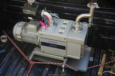 Ulvac Rotary Oil Sealed Vacuum Pump Vdn601 - Nos