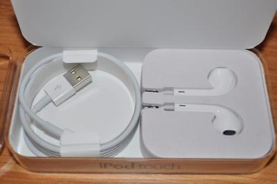 NEW Genuine Apple EarPods Headphones 3.5mm Jack & USB Lightning Connector Cable segunda mano  Embacar hacia Argentina