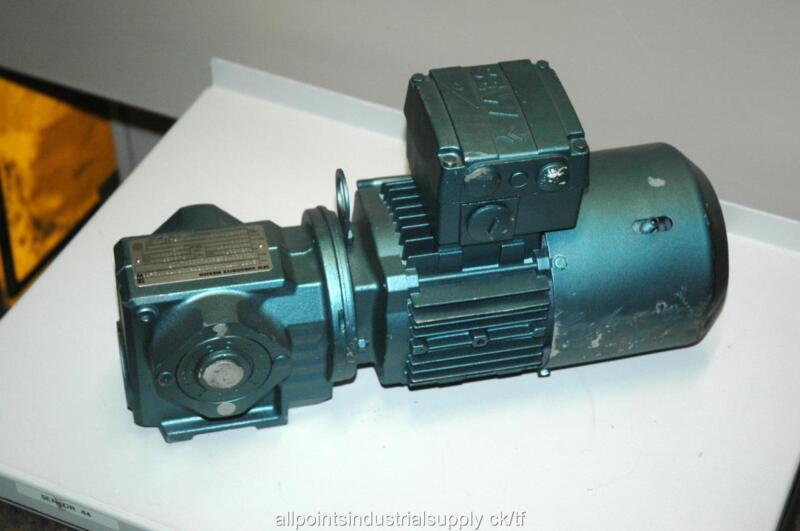 Sew Eurodrive Gearbox Gear Reducer Motor SA37 DT71D8/2/BMG/HR/TF - NOS