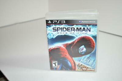 SONY PLAYSTATION 3 PS3 SPIDERMAN EDGE OF TIME TESTED WORKS
