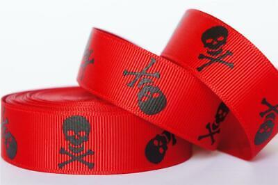 10Yd Black Pirate Skull 7/8