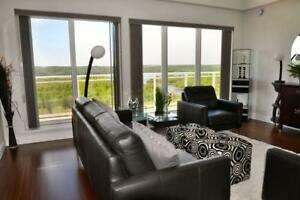 2 bedroom - 2 bathrooms B unit on the sunny side at The Waterton