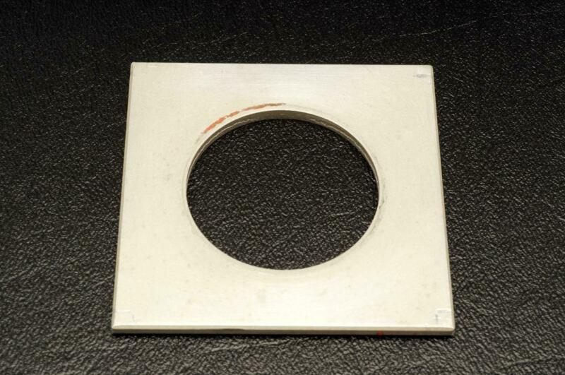 "Lens Board 2.625"" x 2.625"" with 1.55"" Hole"