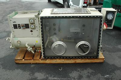Vacuum Atmospheres Vac Oc-3 600 C Water Cooled Glove Box Oven Ante Chamber