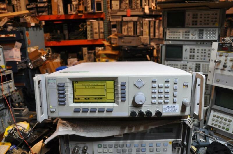 Anritsu 69347B 10Mhz-20Ghz Signal Generator Opt. 2B,7,11,14