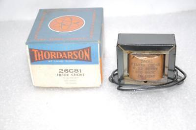 Thordarson 26c81 Choke Transformer 0.32h - 600madc 10 Ohms Vintage Usa