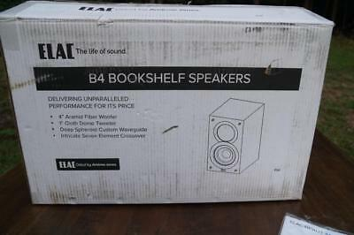 "Elac - Debut 4"" 2-way Bookshelf Speaker  - Black"
