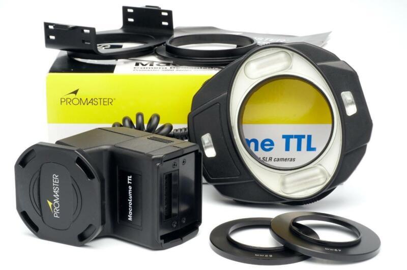 Promaster MacroLume TTL Dedicated Ring Light