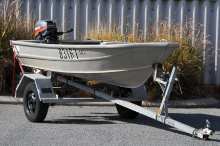 Stessel Alloy Dinghy with Mariner 9HP Outboard
