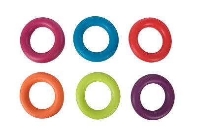 Karlie Gummiring Gummispielzeug für Hunde 7 cm farblich sortiert