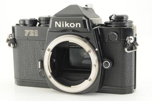 *Excellent* Nikon FE2 Black 35mm SLR Film Camera from Japan #5396
