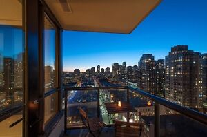 Beautiful Fully Furnished one bedroom in Yaletown Park 3