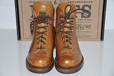 Ralph Lauren Rrl Summit Made In Usa Vintage Leather Ankle Boots By Julian