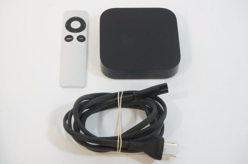 Apple TV 3 3rd Generation A1469 MD199LL/A Streaming Media Player Very Good Used