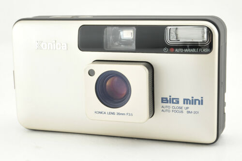 *Excellent+++* Konica Big Mini BM-201 Point & Shoot Film Camera from Japan #3669