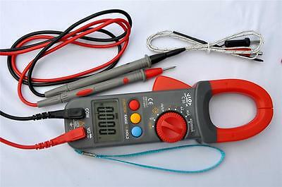 Digital Clamp Meter Ammeter Multimeter Dmmcapacitor Testerk Thermocouple Hvac