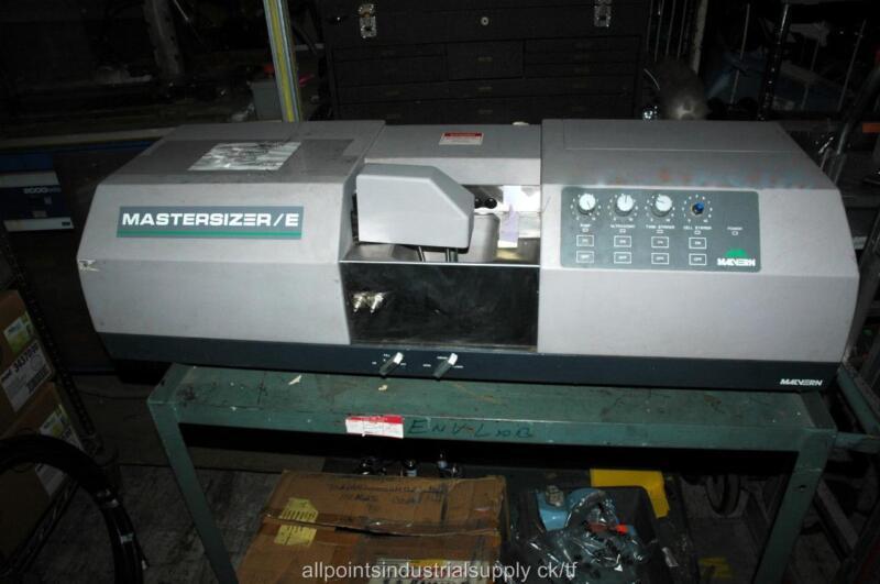 Malvern Instruments Mastersizer/E Laser Micro Particle Size Analyzer