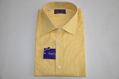 $425 Ralph Lauren PURPLE LABEL Cotton Dress Shirt 15