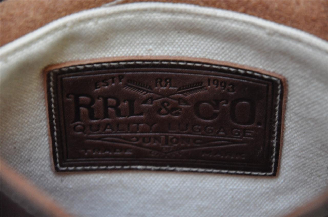 272a6bbfbe Мужская сумка через плечо Ralph Lauren RRL Leather   Indian Wool Blanket  Messenger Mail Bag