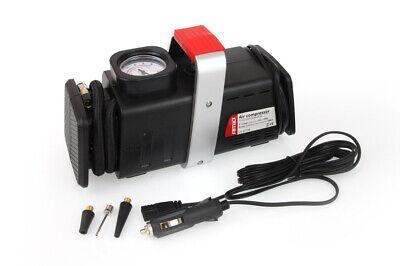 Compresor aire coche 12 V 220 V 200 PSI manometro con boquillas