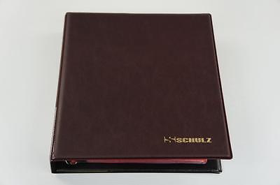 221 Mix Zelle Münzsammlung Burgund Münzenalbum Münzen Alben Sammelalbum NEU