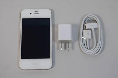 Used Working White Apple iPhone 4S 16GB AT&T Unlocked GSM T-Mobile Cricket A1387