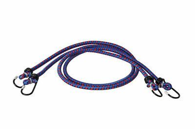 2 x 120 cm cuerda elastica sujeta objetos coche moto camping viaje...