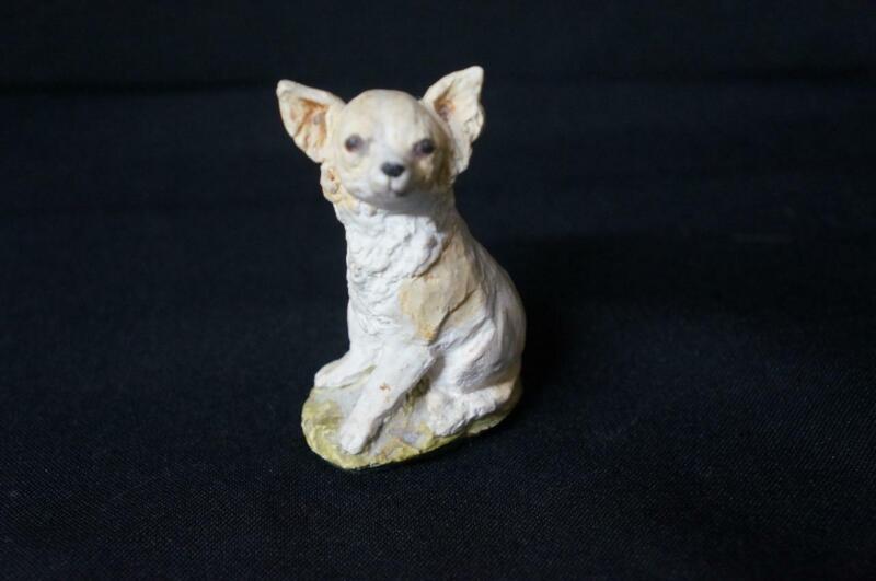"Stef Handmade England Dog Figurine 3"" Tall"