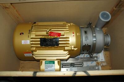 Spx Flow Apv W 30120 Stainless Steel Sanitary Centrifugal Pump 30 Hp Motor