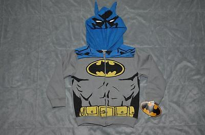 Batman Toddlers Full Zip Hoodie with Bat Ears by Childrens Apparel - Batman Hoodie With Ears