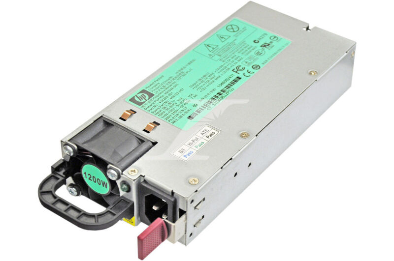 HPE HP 498152-001 1200W AC Common Slot Power Supply