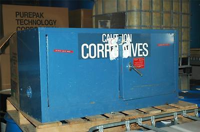 Corrosives 15 Gallon Eagle ADD-15 Storage Cabinet 43 x 18 x 22