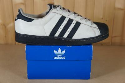 Adidas vintage original 1996 release UK size 9 Superstar ? trainers white & navy