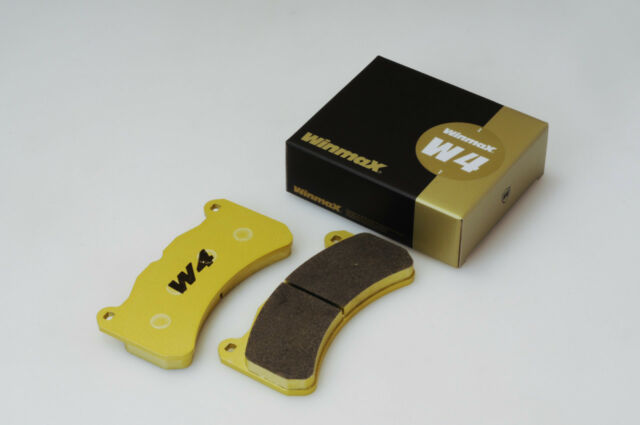 Winmax W4 Front Brake Pad For FAMILIA 09.00-10.03 BJ5P(300001-) LS 2WD MT