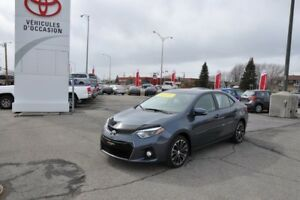 2015 Toyota Corolla S W/ MAGS AND SUNROOF