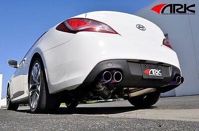 10-14 Genesis Coupe 2.0T BK1 BK2 ARK GRIP Exhaust System w/ Tecno Tips