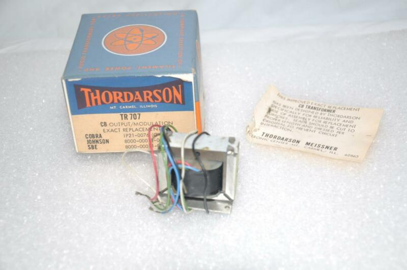 Thordarson TR707 CB Output Modulation for Cobra Johnson SBE Radios