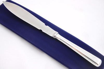 MAPPIN & WEBB STERLING SILVER HANDLED LETTER OPENER CHARLES II PATTERN 1963