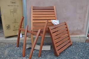 Outdoor hardwood chairs brand new Mount Barker Mount Barker Area Preview