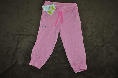 Tri-blend Pants (Under Armour Girls Tri-Blend Capri Pants 1242936 675 Pink NWT See Sizes)