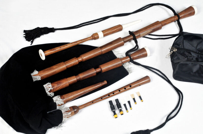 Medieval Bagpipes | Italian Bagpipes | Westren European 2 Drones