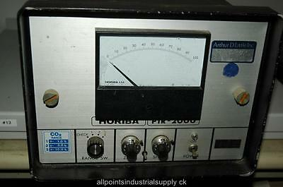 Horiba Pir-2000 Pir2000 Co2 Gas Analyzer - Powers Up