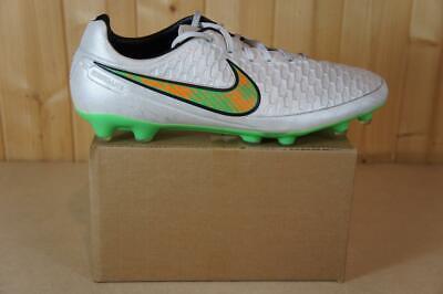 Nike Magista Kanga-lite UK size 10 soccer shoes in Silver Grey & Green
