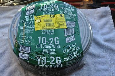 Kalas Type Uf-b 102 Underground Feeder Cable Wground 250 Ft Usa New Southwire