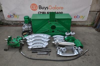 Greenlee 885 Hydraulic Bender 1 14 To 5 Electric 960 Pump 1802 Bending Table