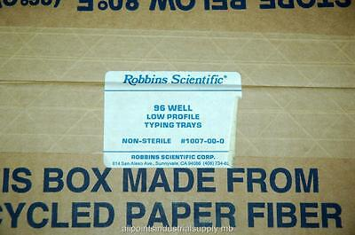 96 Well Tissue (Robbins Scientific Tissue Typing Trays 96 Well Low Profile 1007-00-0 -NOS)