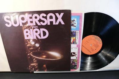 Supersax Plays Bird (VG++ Capitol LP) Jazz